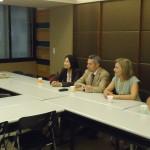 Η Κρητική αποστολή κατά την επίσκεψη της στα γραφεία του μεγαλύτερου τουριστικού οργανισμού της Ταιβάν