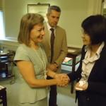 Η υφυπουργός Εξωτερικών της Ταιβάν υποδέχεται την κ. Βρέντζου και τον κ. Παπαβασιλείου